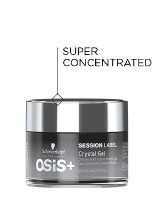 OSiS+ Session Label Crystal Gel