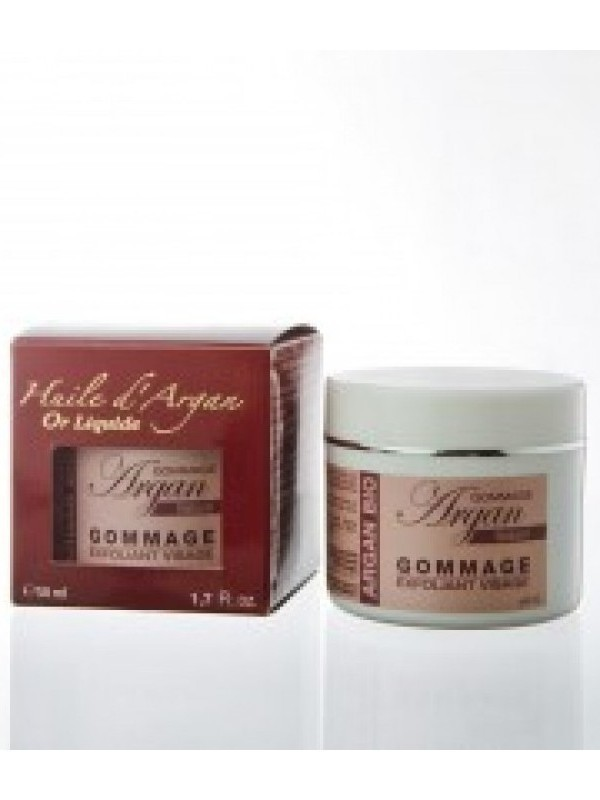 Gommage Argan Naturel Exfoliant visage - 100% Argan - 50ml
