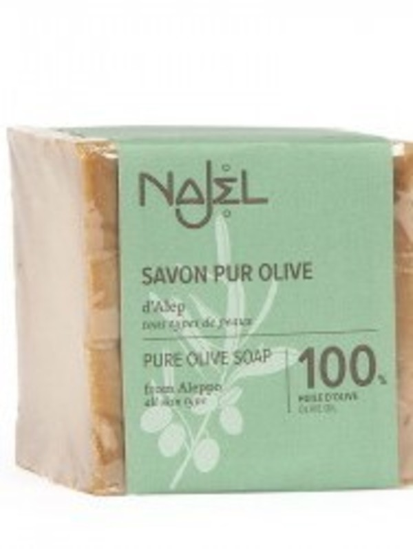 Savon pur olive d'Alep 100% huile d'olive - 170 g